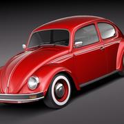 Volkswagen Beetle 1980 3d model