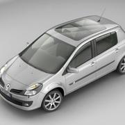 Renault Clio III 5door 3d model