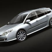 Renault Laguna III break 3d model