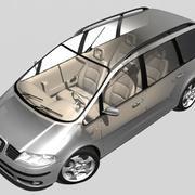 Seat Alhambra 3d model