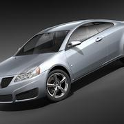 Pontiac G6 Coupe 3d model