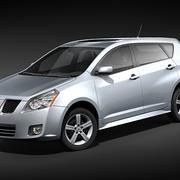 Pontiac Vibe 3d model