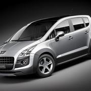 Peugeot 3008 2010-2012 3d model