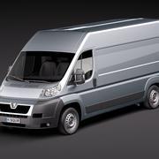 Peugeot Boxer lwb 3d model
