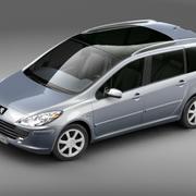 Peugeot 307 Estate 3d model