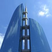Skyscraper 001 3d model