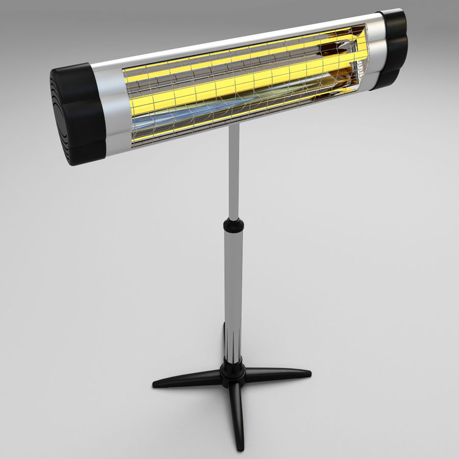 UFO Infrared Heater royalty-free 3d model - Preview no. 5