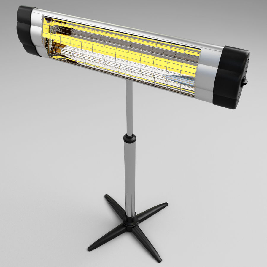UFO Infrared Heater royalty-free 3d model - Preview no. 6