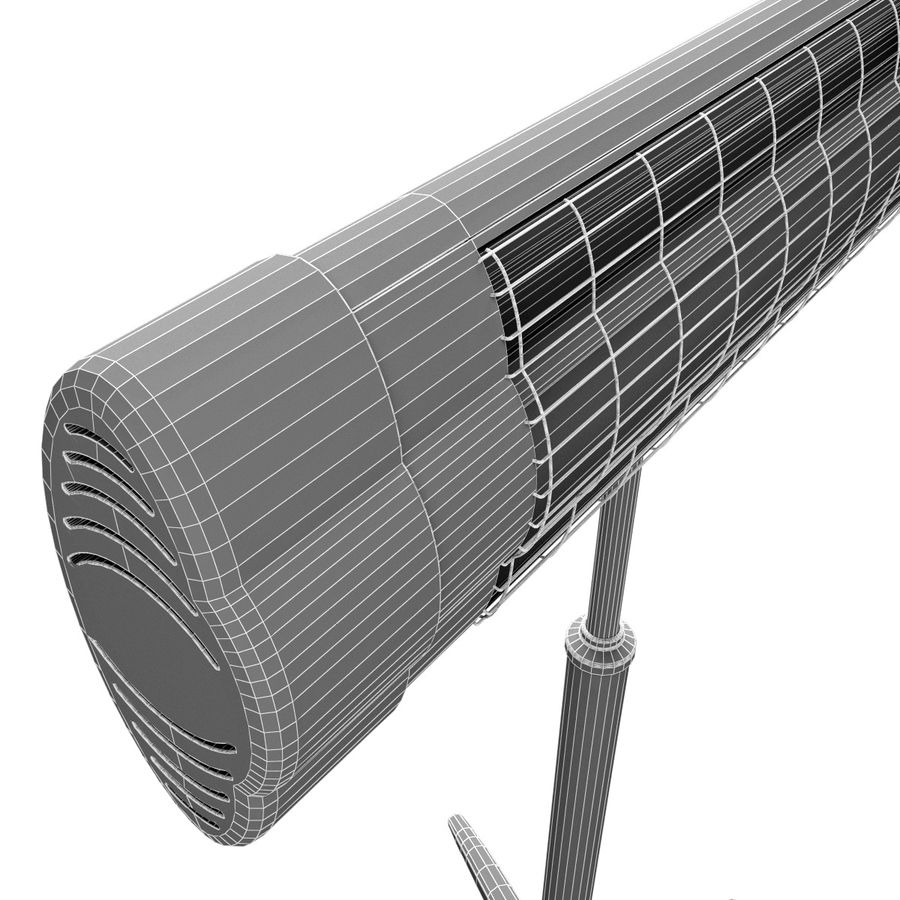 UFO Infrared Heater royalty-free 3d model - Preview no. 17