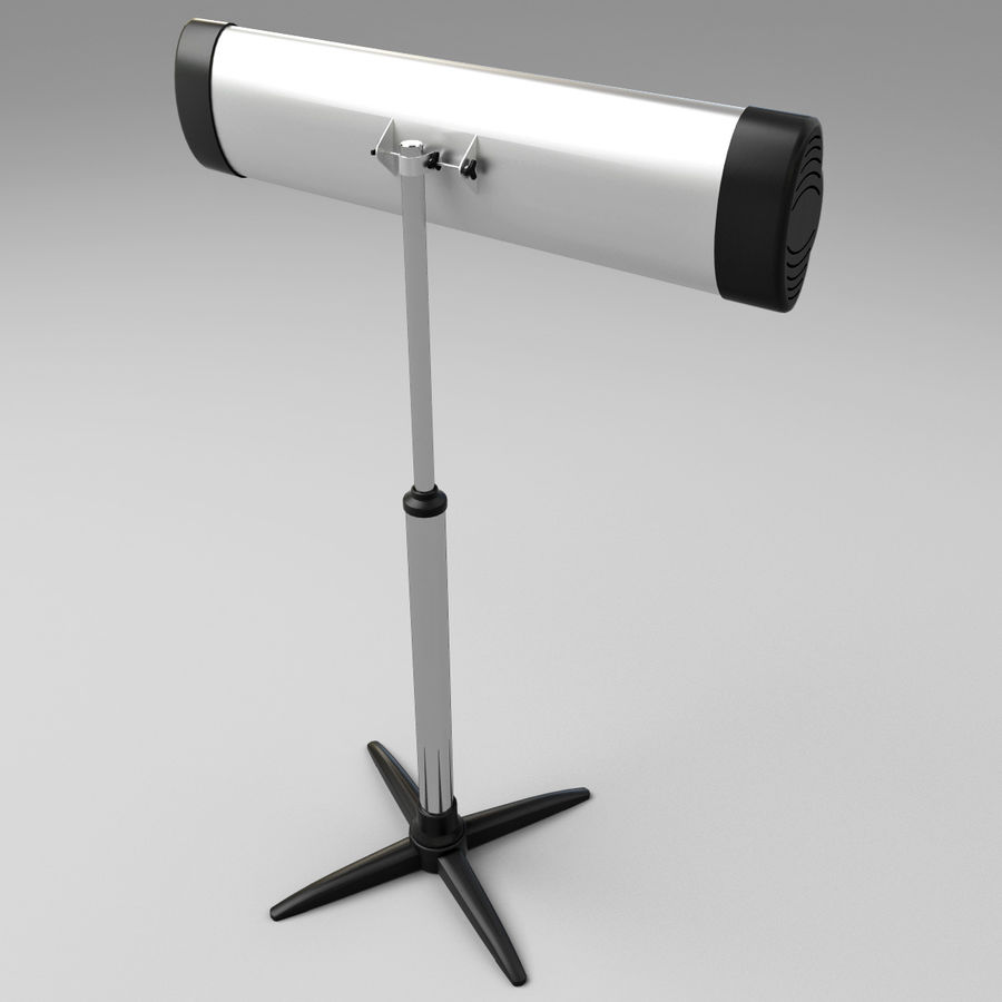 UFO Infrared Heater royalty-free 3d model - Preview no. 8