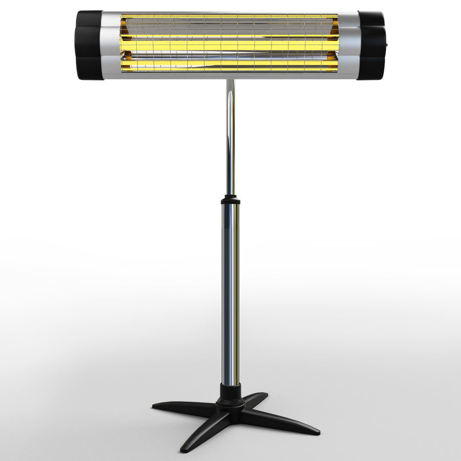 UFO Infrared Heater royalty-free 3d model - Preview no. 2
