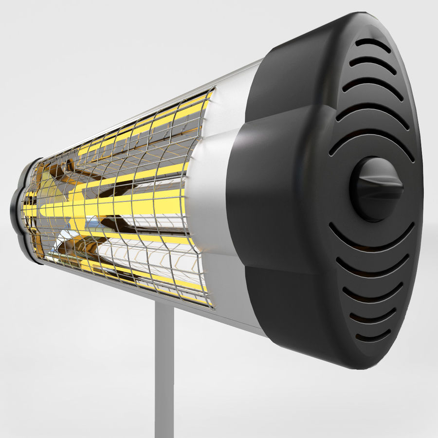 UFO Infrared Heater royalty-free 3d model - Preview no. 10