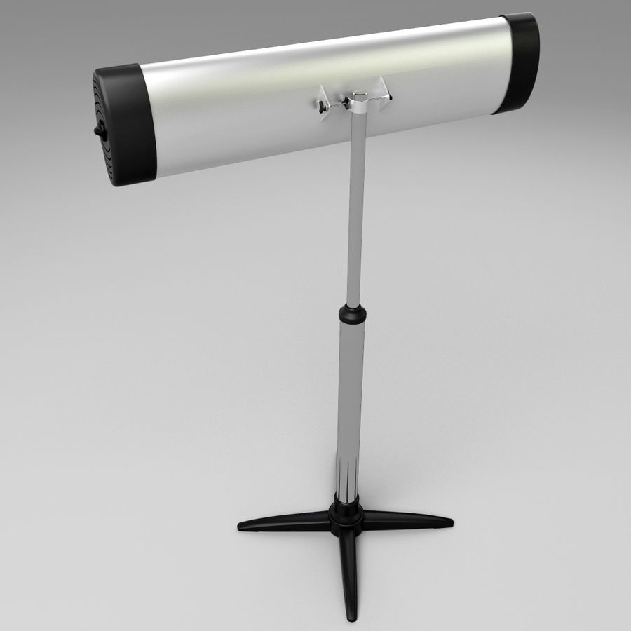 UFO Infrared Heater royalty-free 3d model - Preview no. 7