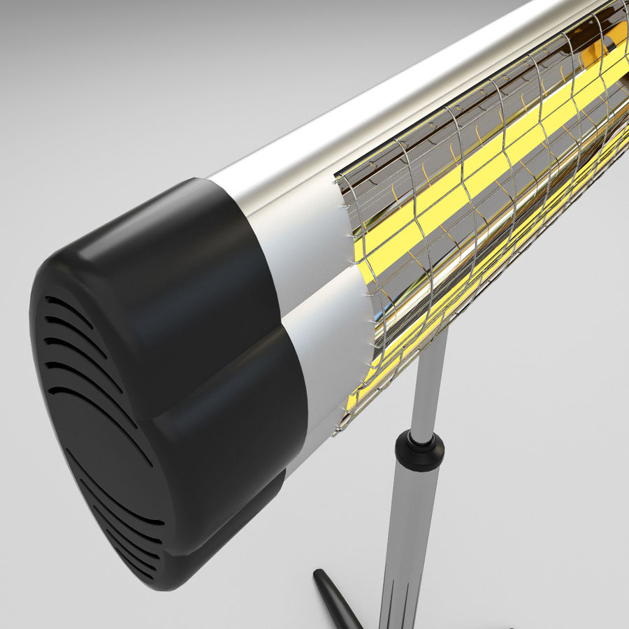 UFO Infrared Heater royalty-free 3d model - Preview no. 9