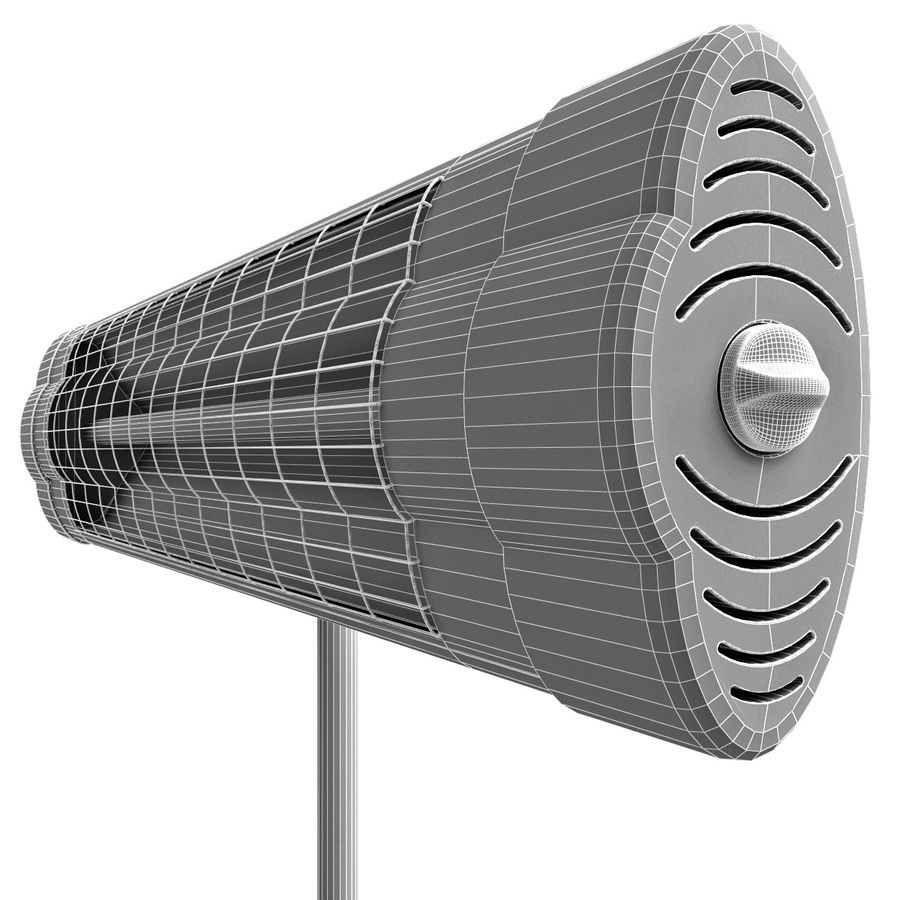 UFO Infrared Heater royalty-free 3d model - Preview no. 18