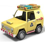 rescue jeep car toy vehicle kid children game play 3d model