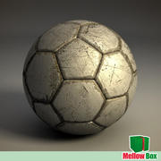 Old football ball 3d model