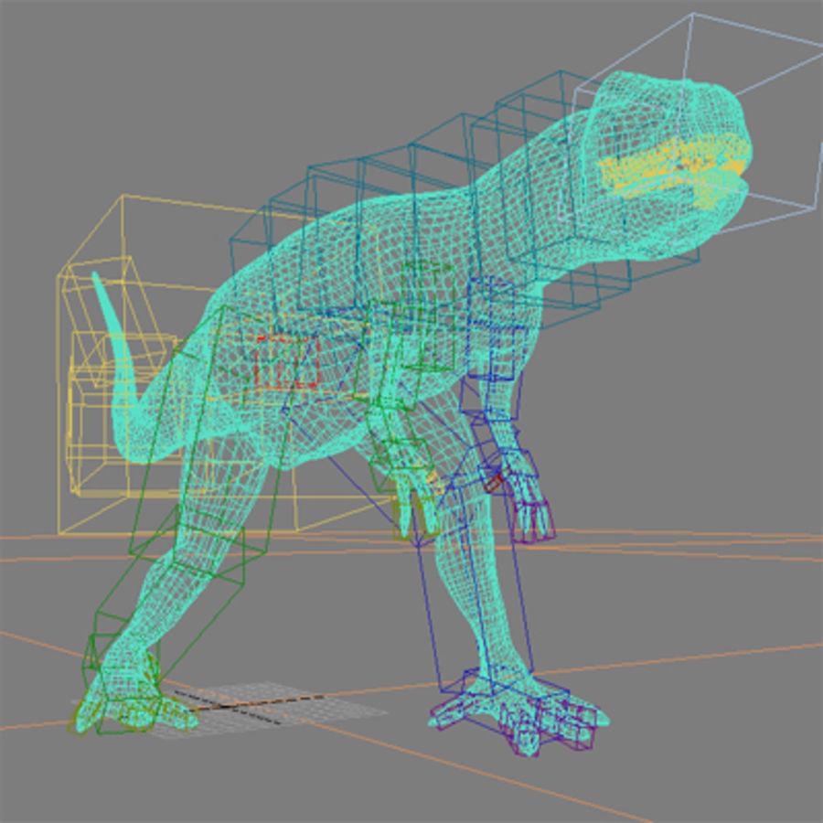 Allosaurus royalty-free 3d model - Preview no. 5