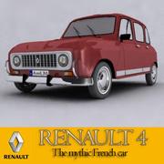Renault 4 3d model