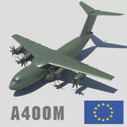 Airbus A400M Heavy Lift Aircraft 3d model