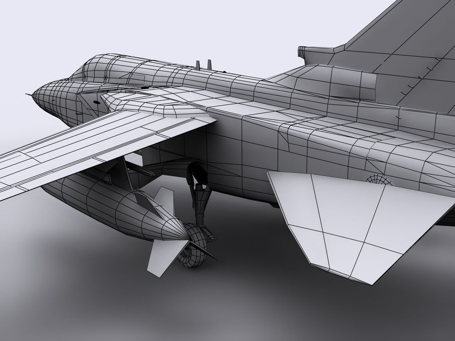 Tornado ADV royalty-free 3d model - Preview no. 9