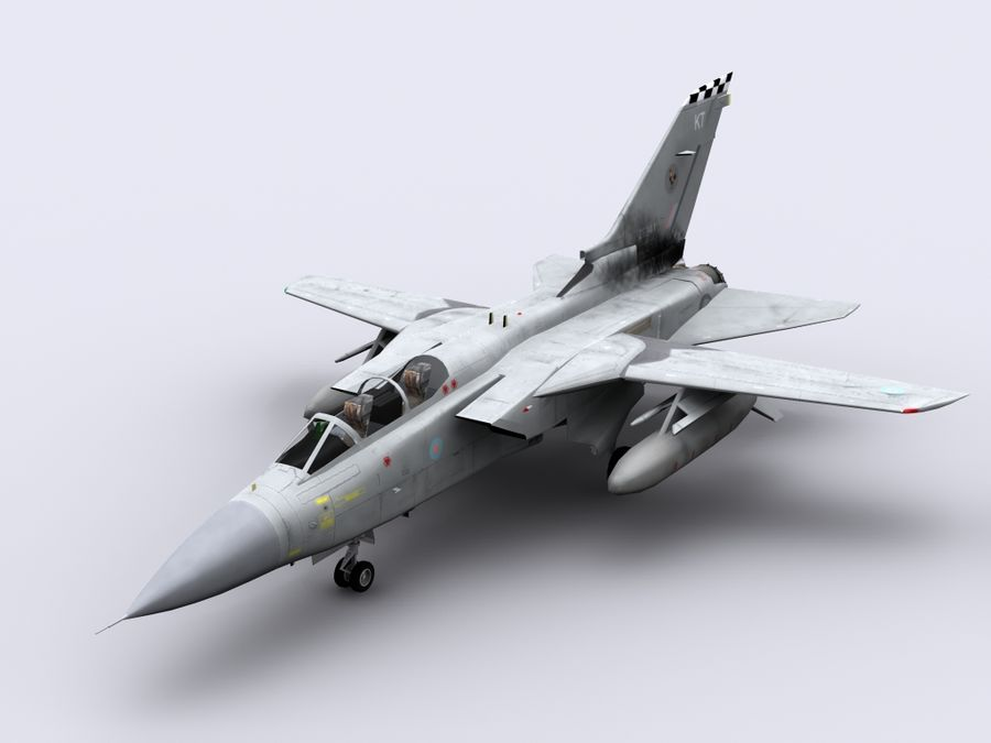 Tornado ADV royalty-free 3d model - Preview no. 1