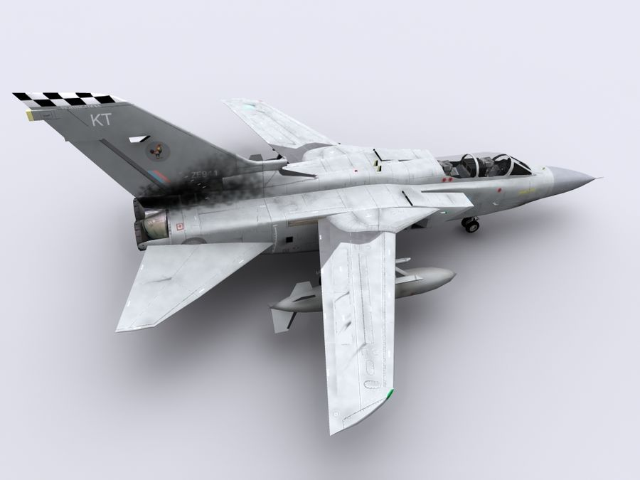 Tornado ADV royalty-free 3d model - Preview no. 7