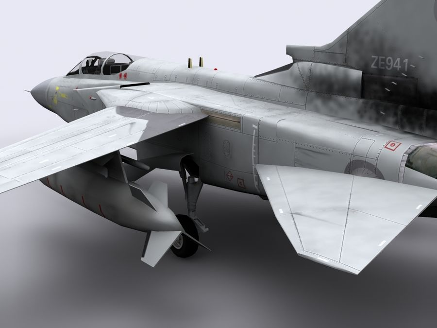 Tornado ADV royalty-free 3d model - Preview no. 4