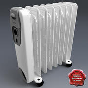 Whirlpoll Oil Heater 3d model