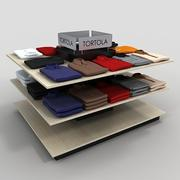 Golf Shirt Display Table 3d model