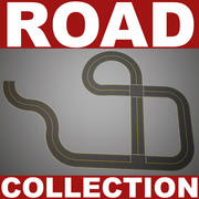 Road Collection V1 3d model