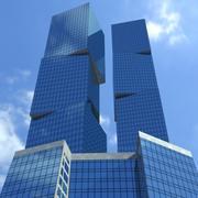 Skyscraper 002 3d model
