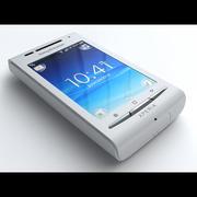Sony Ericsson EXPERIA X8 3d model