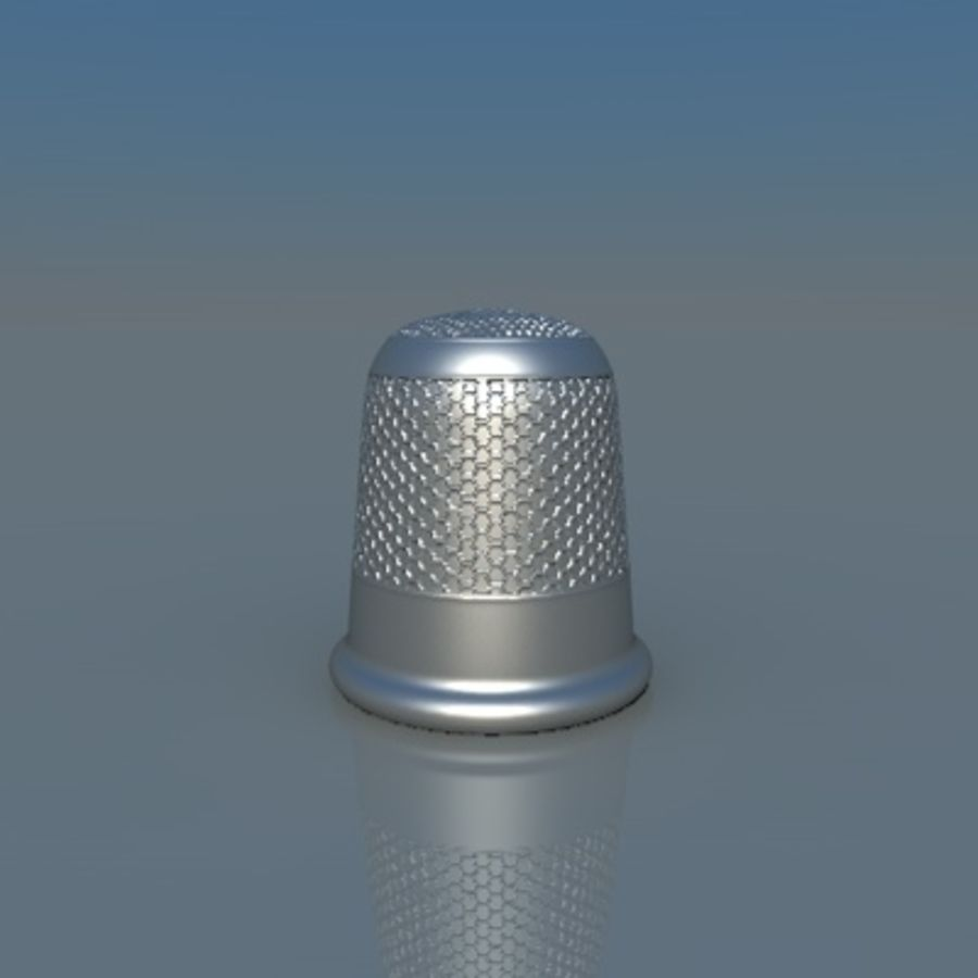 наперсток royalty-free 3d model - Preview no. 1