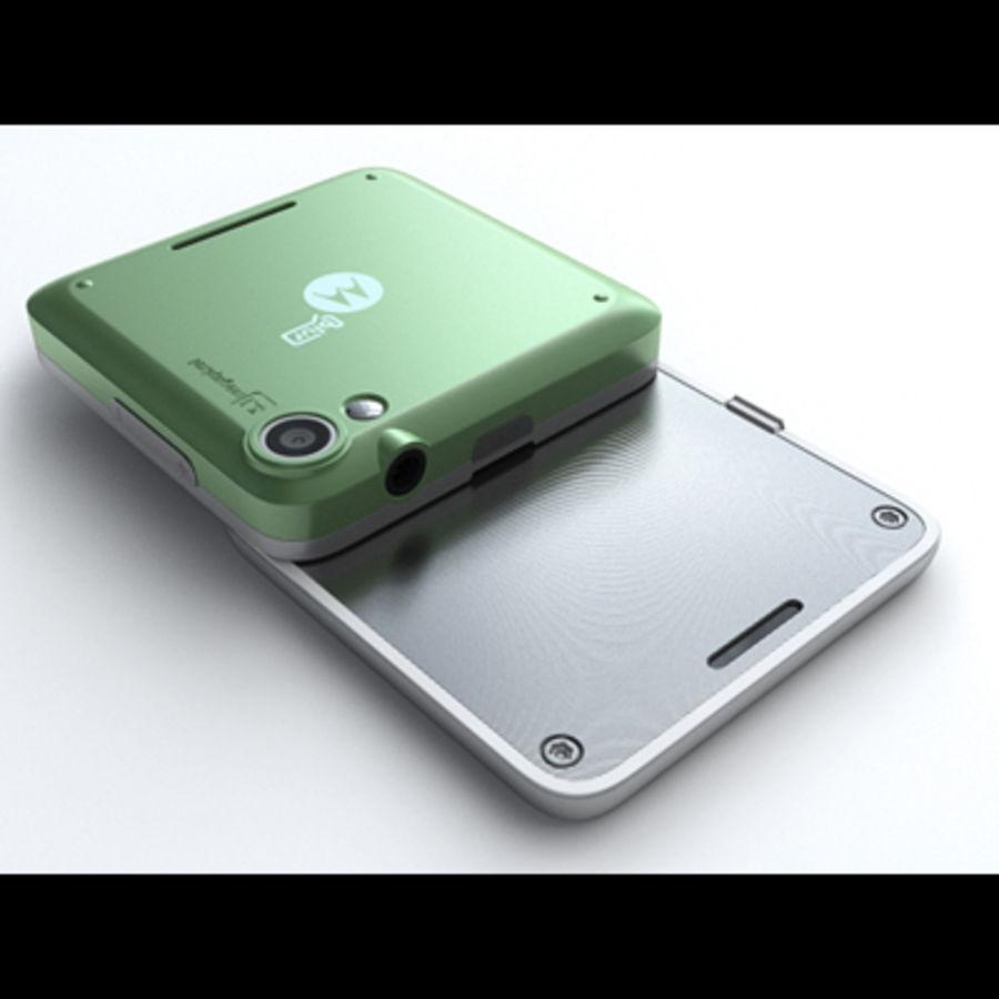 Motorola FlipOut royalty-free 3d model - Preview no. 10