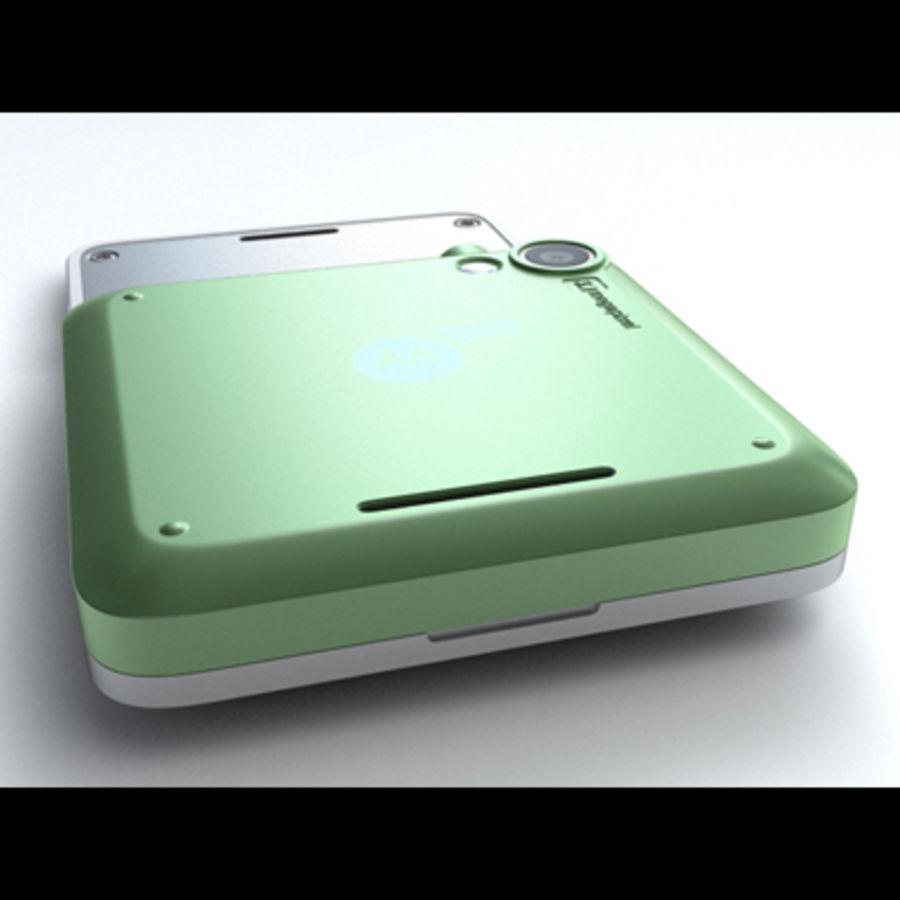 Motorola FlipOut royalty-free 3d model - Preview no. 11