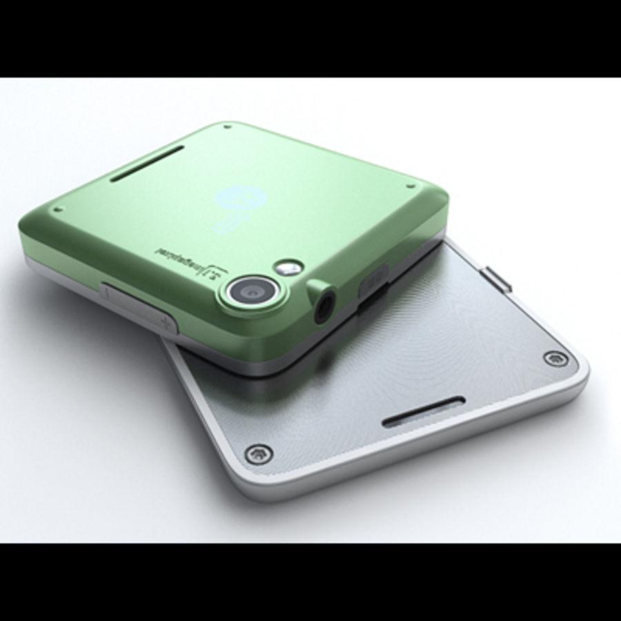 Motorola FlipOut royalty-free 3d model - Preview no. 8