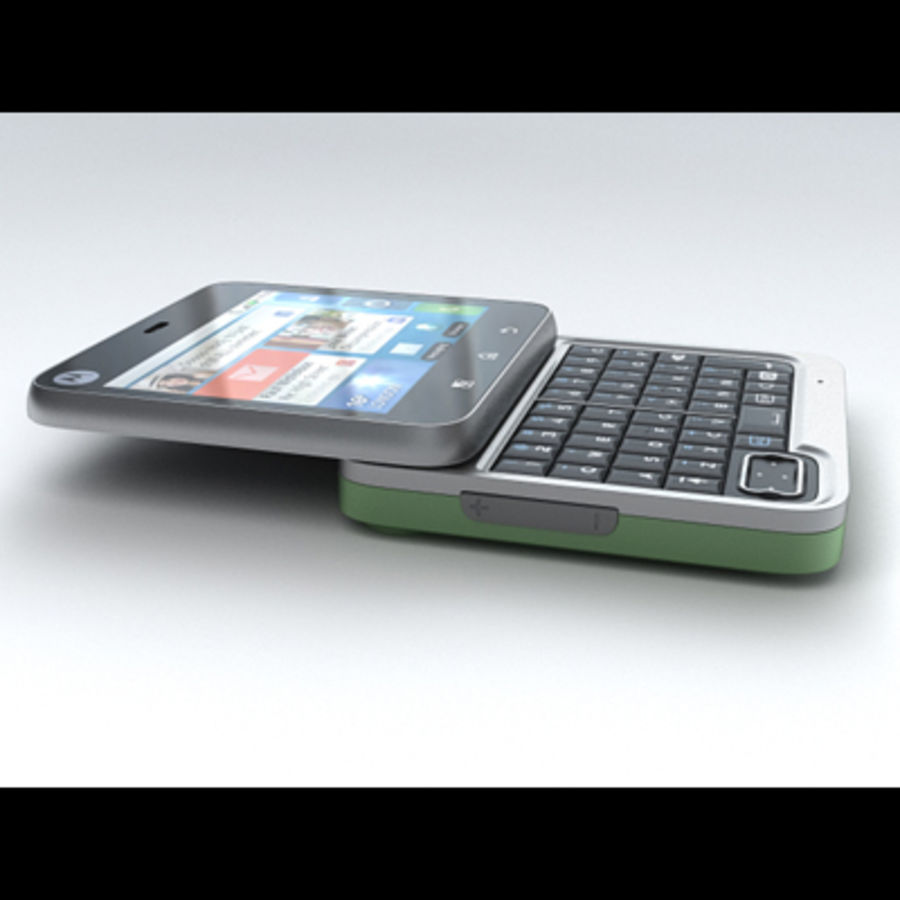 Motorola FlipOut royalty-free 3d model - Preview no. 6