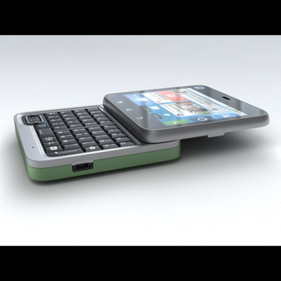 Motorola FlipOut royalty-free 3d model - Preview no. 5