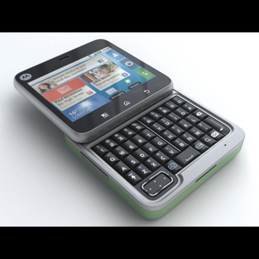 Motorola FlipOut royalty-free 3d model - Preview no. 2