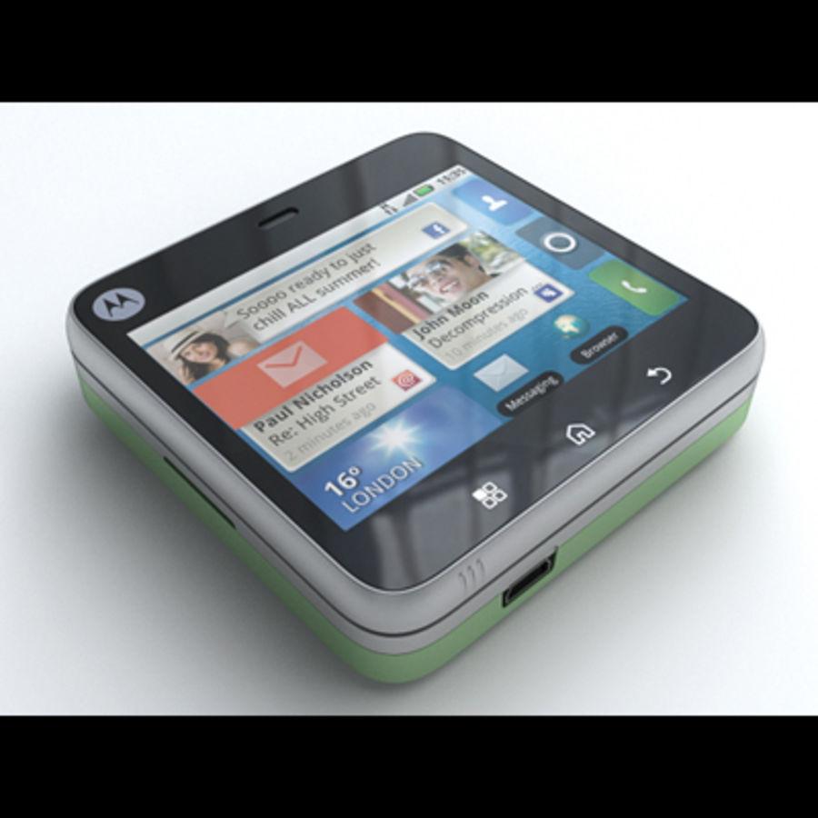 Motorola FlipOut royalty-free 3d model - Preview no. 15