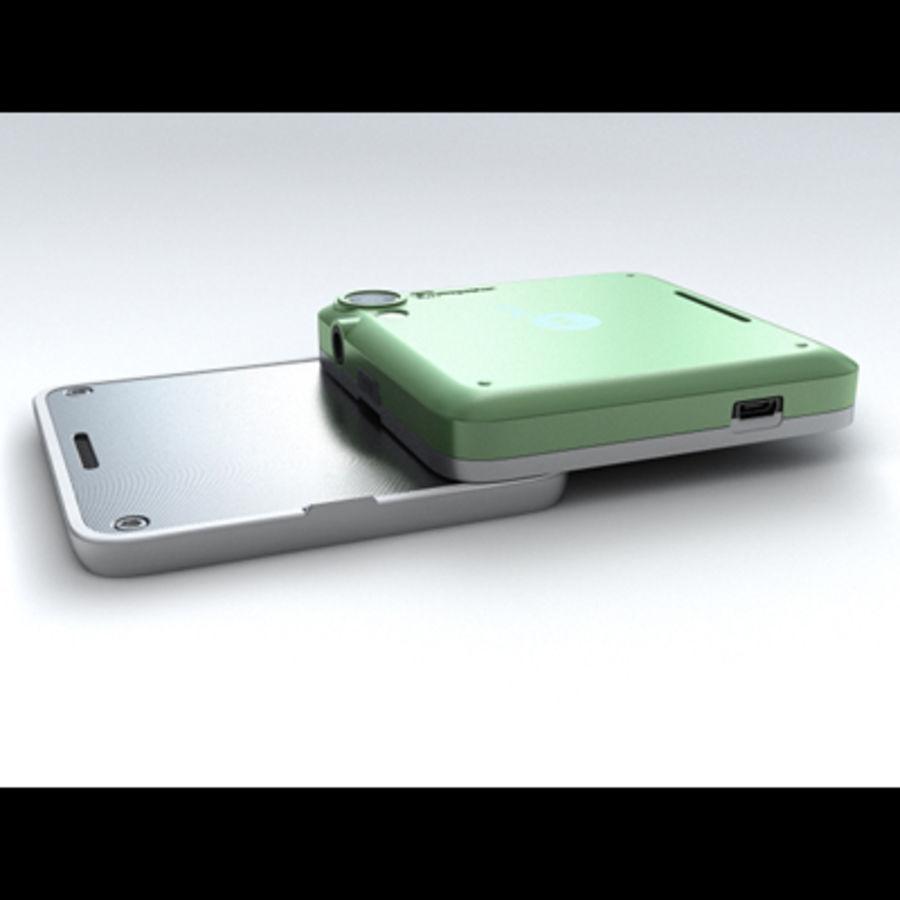 Motorola FlipOut royalty-free 3d model - Preview no. 13