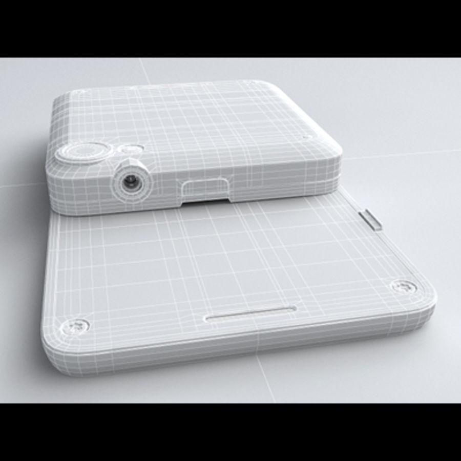 Motorola FlipOut royalty-free 3d model - Preview no. 24