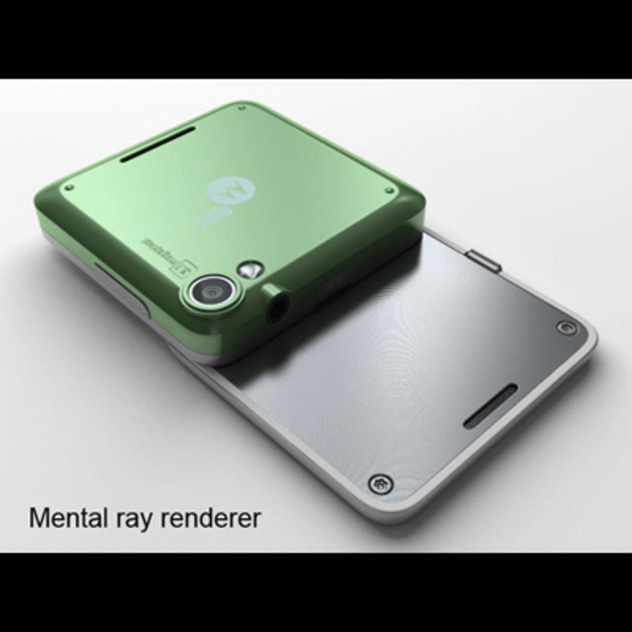 Motorola FlipOut royalty-free 3d model - Preview no. 25