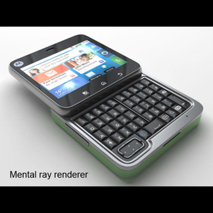 Motorola FlipOut royalty-free 3d model - Preview no. 26