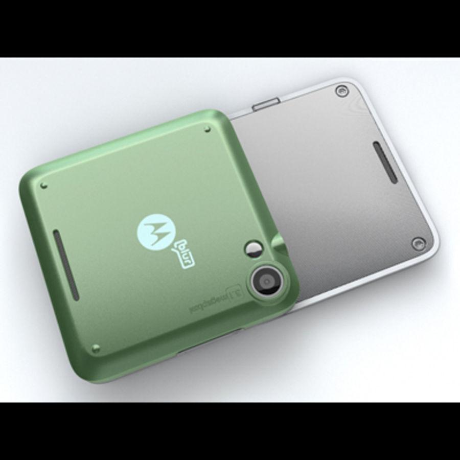 Motorola FlipOut royalty-free 3d model - Preview no. 17