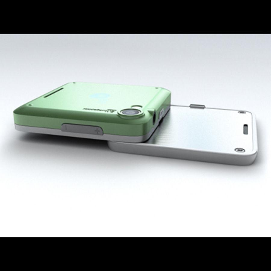 Motorola FlipOut royalty-free 3d model - Preview no. 14