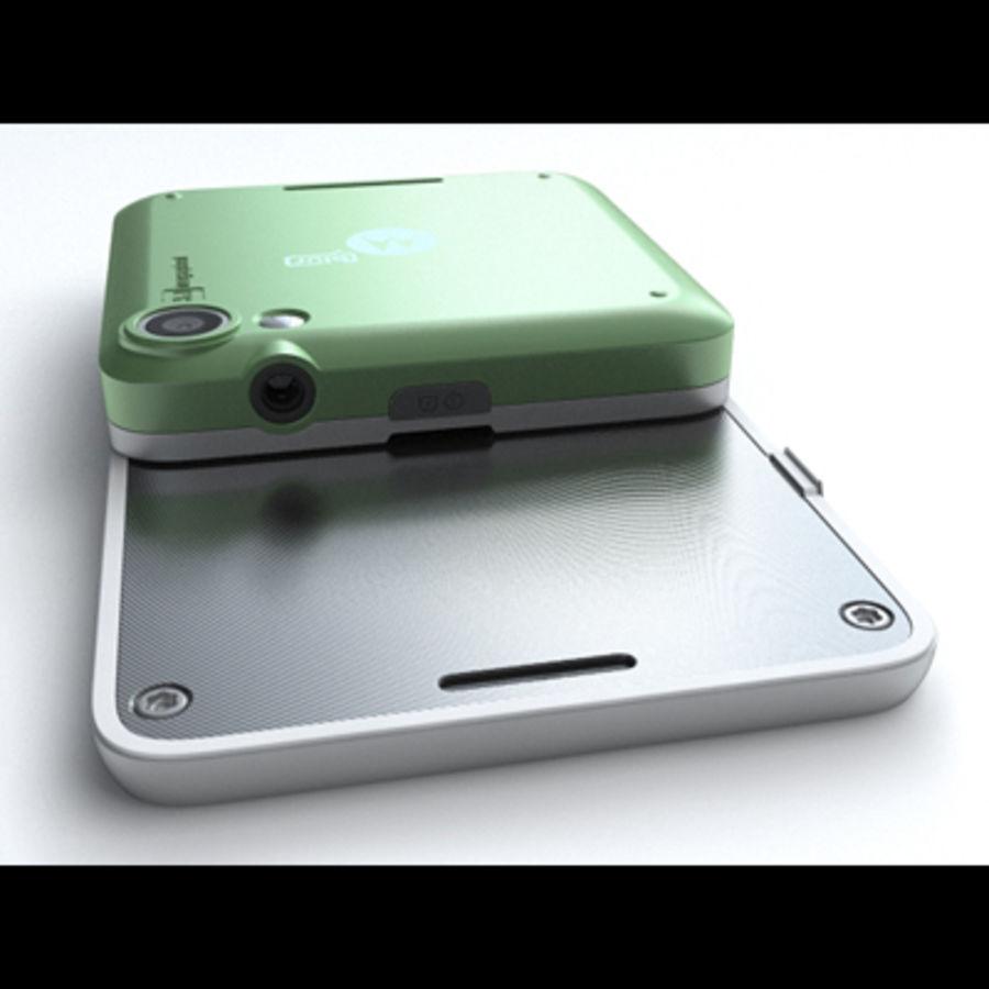 Motorola FlipOut royalty-free 3d model - Preview no. 12
