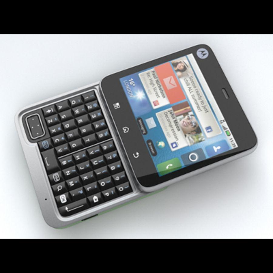 Motorola FlipOut royalty-free 3d model - Preview no. 7