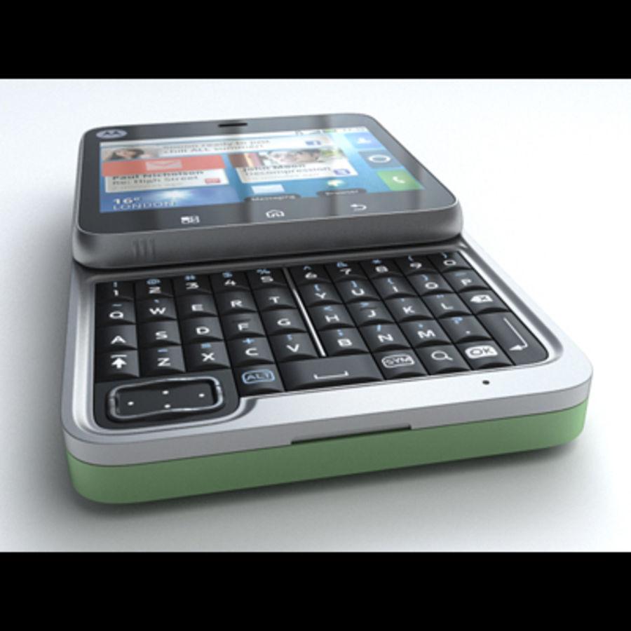 Motorola FlipOut royalty-free 3d model - Preview no. 3